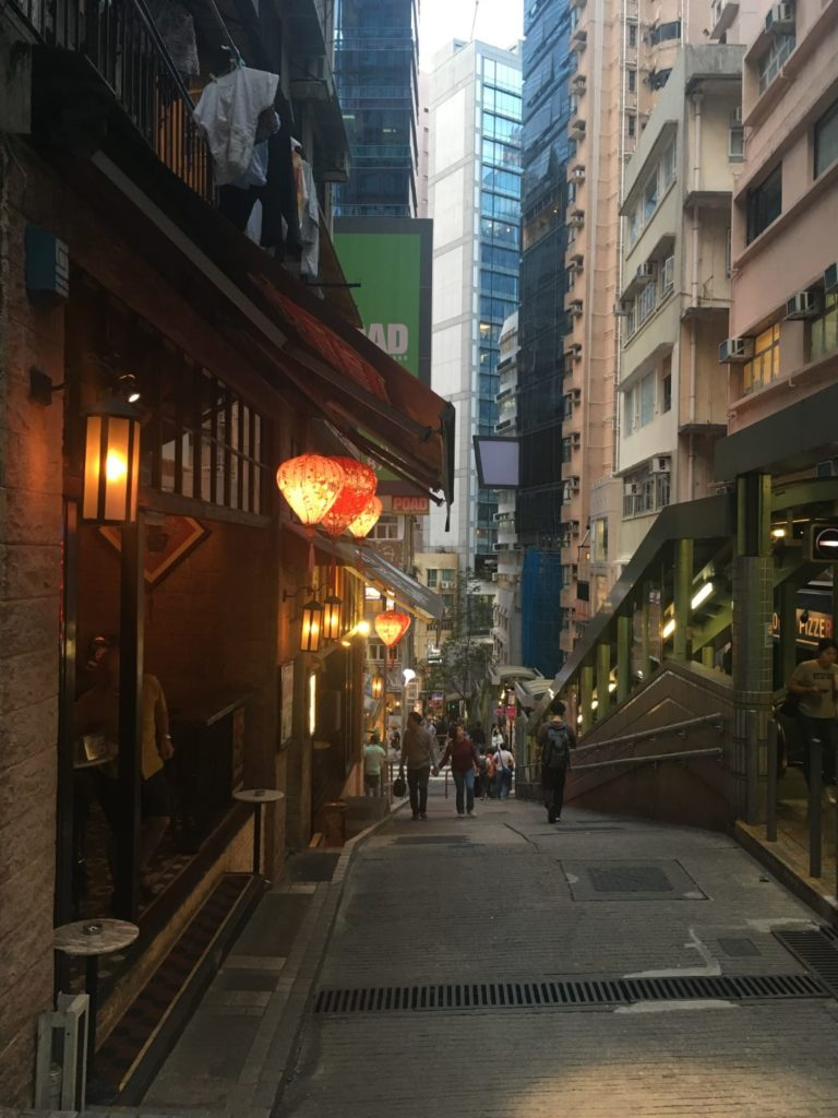 Soho - Szeneviertel auf Hong Kong Island