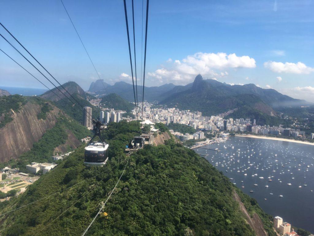 Gondel auf den Zuckerhut, Rio de Janeiro