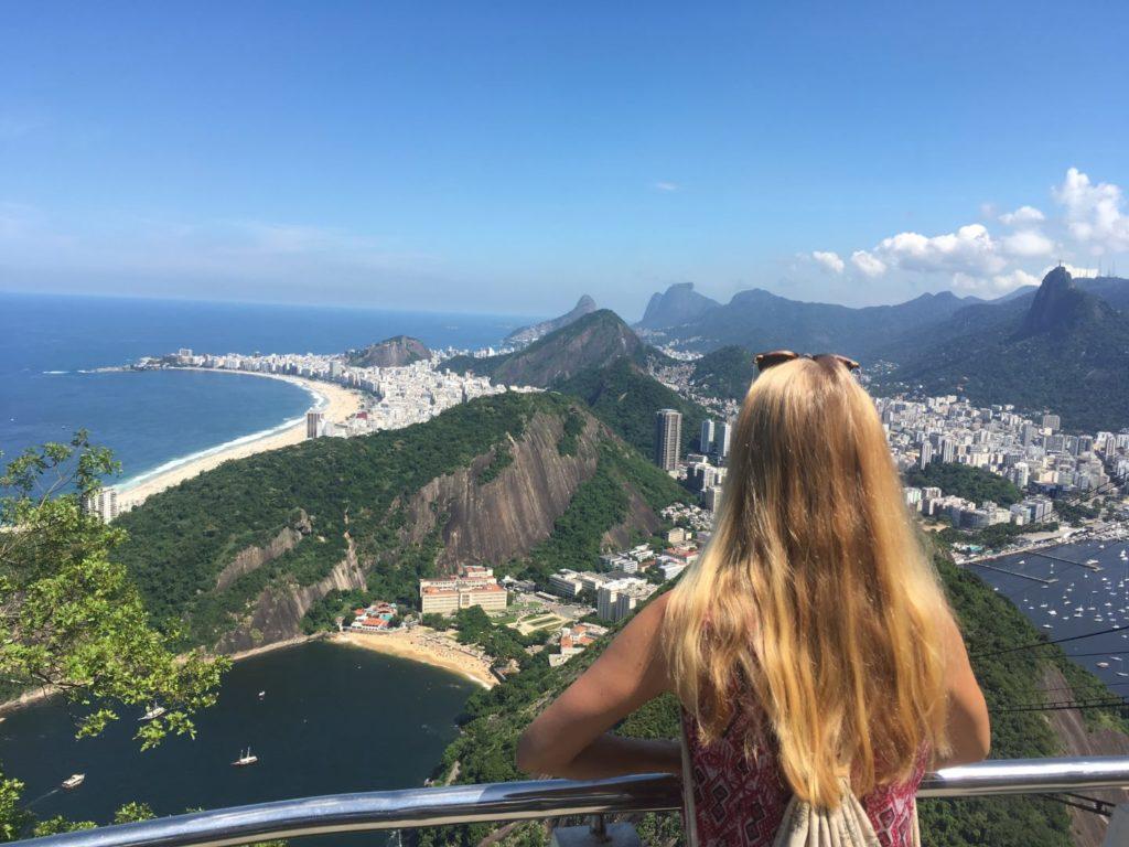 Ausblick vom Zuckerhut auf Rio de Janeiro